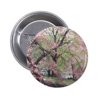 Spring Blossoms Pinback Button