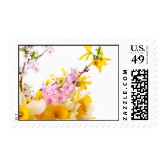 Spring Blossoms Postage Stamp