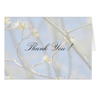 Spring Blossoms Wedding Thank You Cards