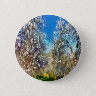 Spring Blosssom Pinback Button