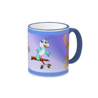 Spring Blue Bird Mug