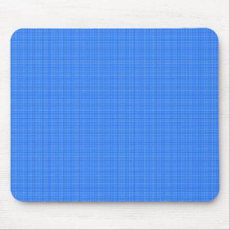Spring-Blue-Plaid(c) __Unisex Mouse Pad