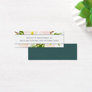 Spring Blush Registry Insert Cards