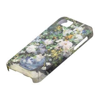 Spring Bouquet by Pierre Renoir, Vintage Flowers iPhone SE/5/5s Case