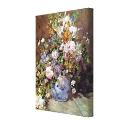 Spring Bouquet by Renoir Canvas Print
