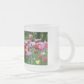 Spring bouquet by Thespringgarden Frosted Glass Coffee Mug