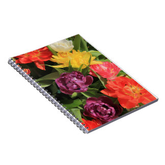 Spring bouquet by Thespringgarden Note Books