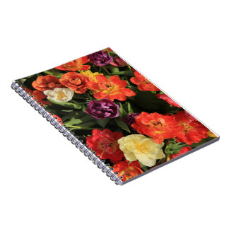 Spring bouquet by Thespringgarden Spiral Notebooks
