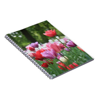 Spring bouquet by Thespringgarden Note Book