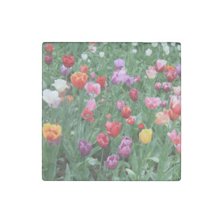 Spring bouquet by Thespringgarden Stone Magnet