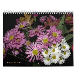 spring bouquet calendar