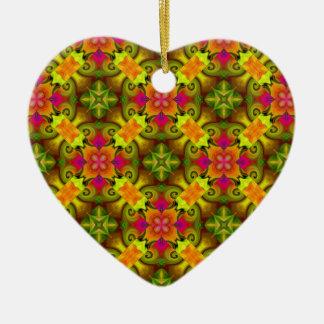 Spring Bouquet Ceramic Ornament