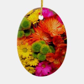 Spring Bouquet for Kym Ceramic Ornament