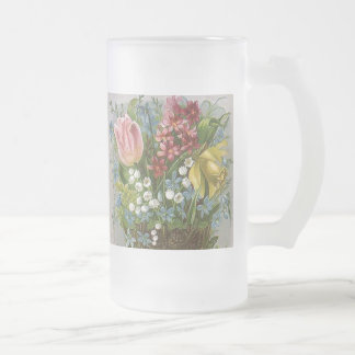 Spring Bouquet Frosted Mug