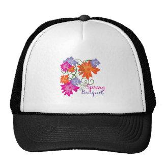 Spring Bouquet Mesh Hat