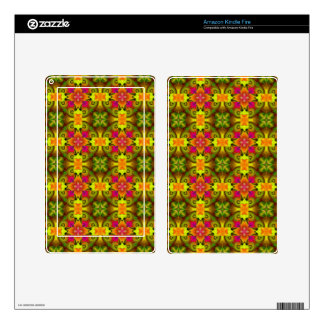 Spring Bouquet Kindle Fire Skins