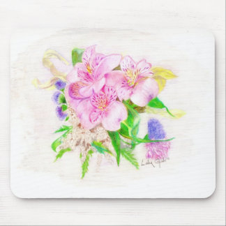 Spring Bouquet Mouse Pad