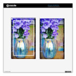 Spring bouquet of purple flowers for Kindle. Skin For Kindle Fire