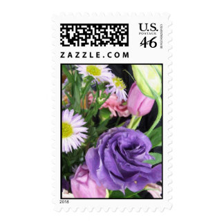 Spring Bouquet Postage Stamps
