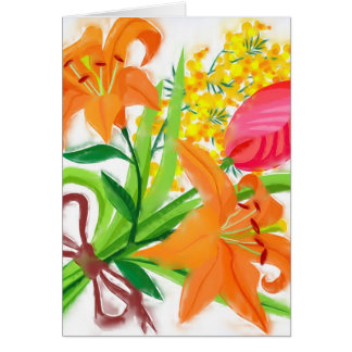 Spring Bouquet Stationery Note Card