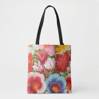 Spring Bouquet Tote