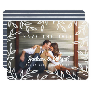 Spring Branches Watercolor Save the Date Card