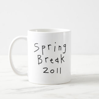 Spring Break 2011 Classic White Coffee Mug