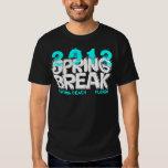 Spring Break 2012 Daytona Beach T-Shirt Teal