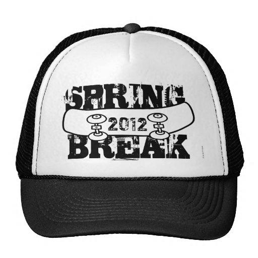 Spring Break 2012 Skateboard Black Hat