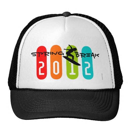 Spring Break 2012 Surfing Hat