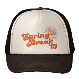 Spring Break 2013 Trucker Hats