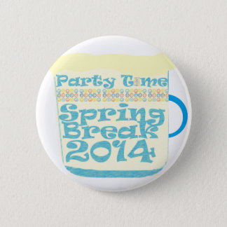 Spring Break 2014 Pinback Button