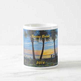 SPRING BREAK 2016 SUNSET PALM TREES  COFFEE MUG