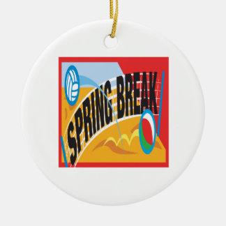 Spring Break 2 Christmas Ornament