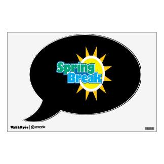 Spring Break 4 Wall Sticker