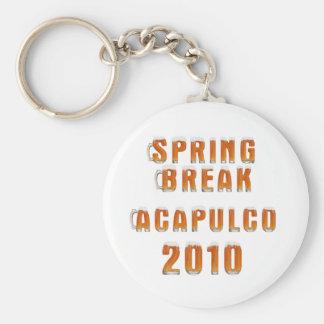 Spring Break Acapulco 2010 Keychain