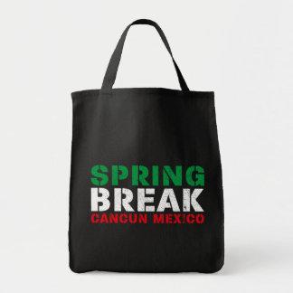 Spring Break Cancun Mexico Tote Bag