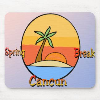 Spring Break Cancun Mouse Pad