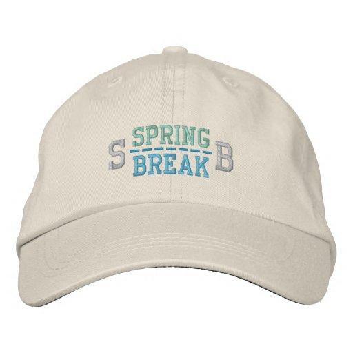 SPRING BREAK cap Embroidered Baseball Cap