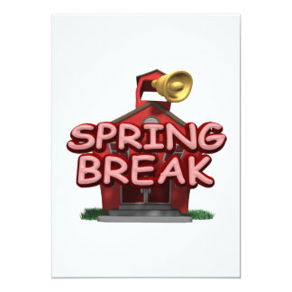 Spring Break Card