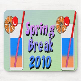 Spring Break Cocktails 2010 Mouse Pad
