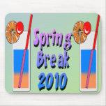 Spring Break Cocktails 2010 Mouse Pads