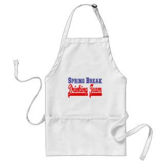 Spring Break Drinking Team (Themed Party) Adult Apron