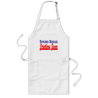 Spring Break Drinking Team (Themed Party) Long Apron