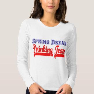 Spring Break Drinking Team (Themed Party) Tee Shirt