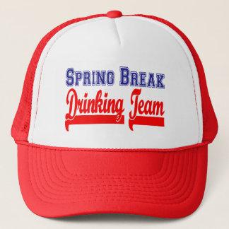 Spring Break Drinking Team (Themed Party) Trucker Hat