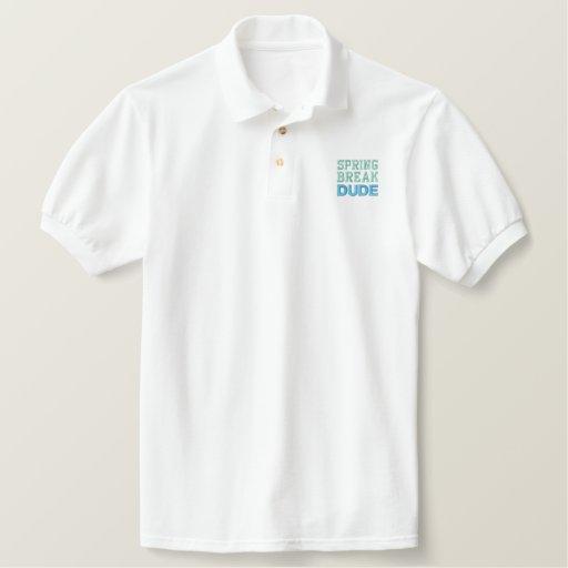 SPRING BREAK DUDE polo (men's)