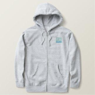 SPRING BREAK DUDE zip hoodie (men's)