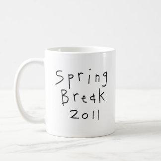 Spring Break Girl Classic White Coffee Mug