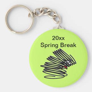 Spring Break Humor Keychains